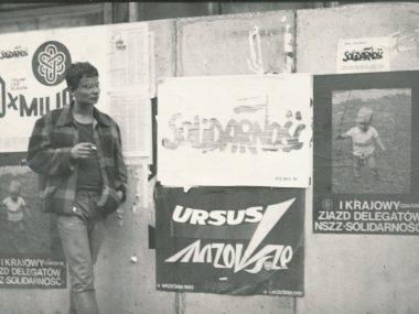 v Polsku v 80. letech
