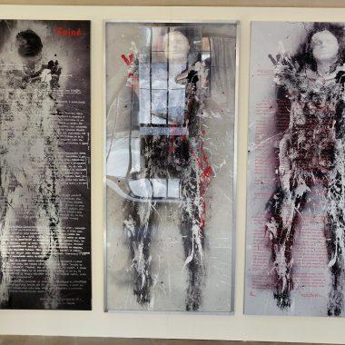 Vernisáž Palachova triptychu od Jiřího Sozanského
