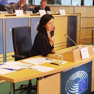 Slyšení Věry Jourové v Bruselu / fotka 1 z 2