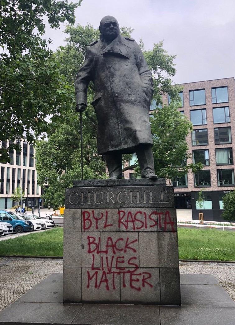 Churchill terčem kulturní války